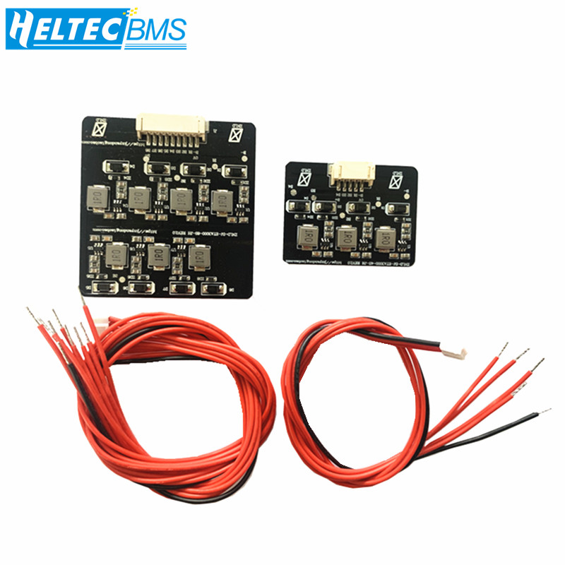 2s - 8s 1.2A Li-ion Lifepo4 Lithium BMS Active Equalization Balancer Inductive Energy Transfer Board