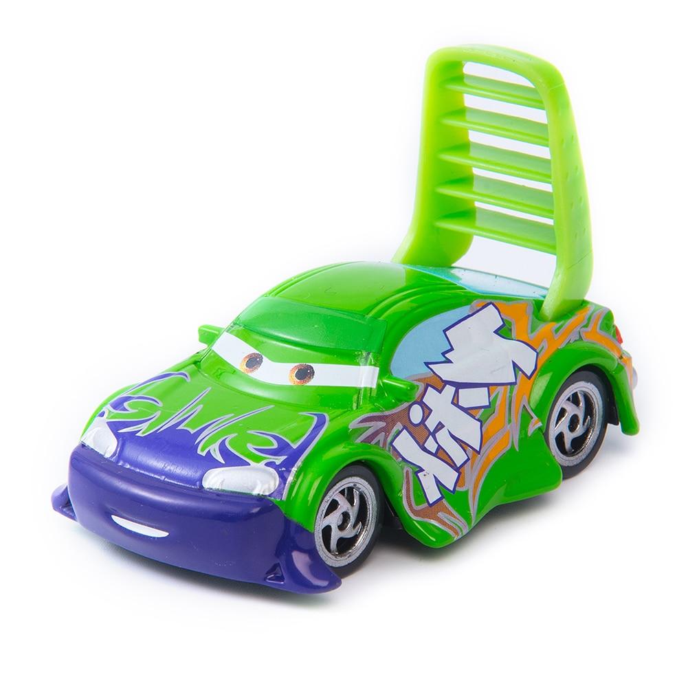 Cars Disney Cars 3 Toys Disney Pixar Lightning McQueen 1:55 Diecast Metal Alloy Model Toy Pull Disney Boule De Noel Disney Toys