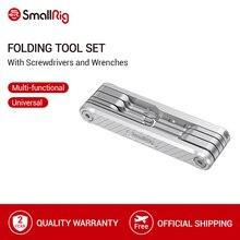 SmallRig składane narzędzie zestaw ze śrubokrętami klucze imbusowe śrubokręt płaski i Torx T25 Driver Tools   2213
