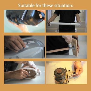 Image 5 - Wypełniacze kleje uszczelniacze Quick Caulk Fill narzędzie do naprawy przedniej szyby płynny klej klejenie Metal Plastic Wood Rubber Powder