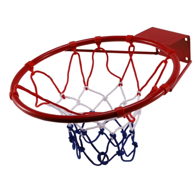 Wall-Mounted Basketball Hoop Rim For Kids And Adult Throws Basketball Basket Indoor And Outdoor Basketball Sports Game Toy Set