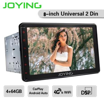 "JOYING 8""Head Unit Android 8.1 Intel Universal Car Radio Stereo GPS NavigationTape Recorder Multimedia Player Built-in 4G Modem"