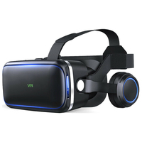 VR Virtual Reality Glasses With Eyesight Adjustment 3D VR Goggles Headset Box for Android Smartphones 4.7 6.0 Inch