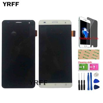 5.0'' LCD Display Touch Screen For Fly FS504 Cirrus 2 LCD Touch Screen Digitizer Assembly Sensor Tools Protector Film stable quality touch screen lcd display assembly screen protector for allview v1 viper s4g 5 free shipping