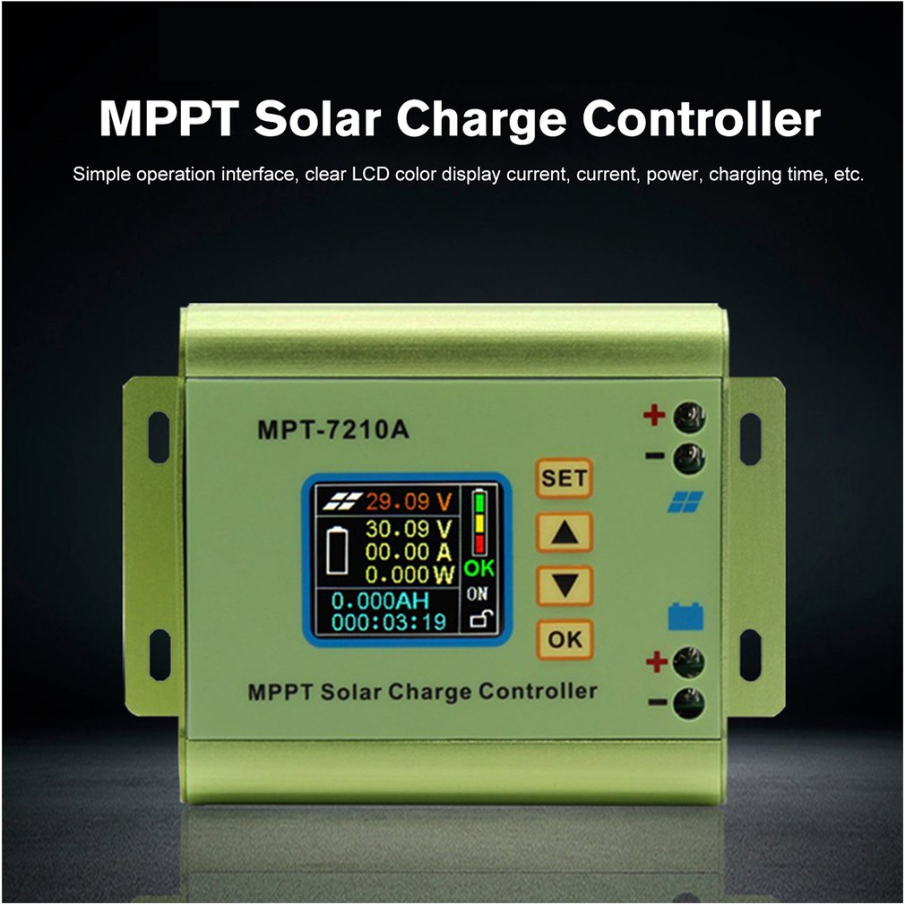 Display, LCD, MPPT, Charge, Battery, Controller