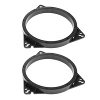 2 stück 6 5 Zoll Schwarz Lautsprecher Adapter Halterung Ring Für Toyota Nissan| |   -