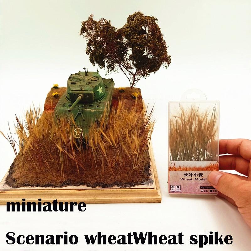 Miniature  Scenario Wheat  Wheat Spike  Scene Modeling Materials  DIY Sand Table Material