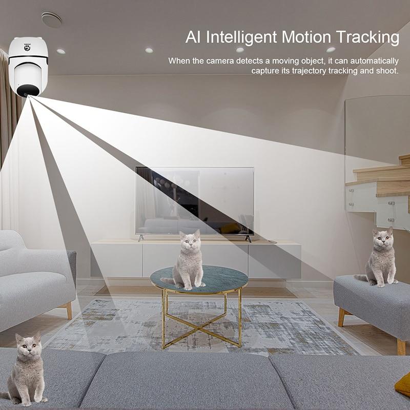 JOOAN Bulut Kablosuz IP Carmera HD 1080 P Gece Görüş 3D Navigasyon - Güvenlik ve Koruma - Fotoğraf 4