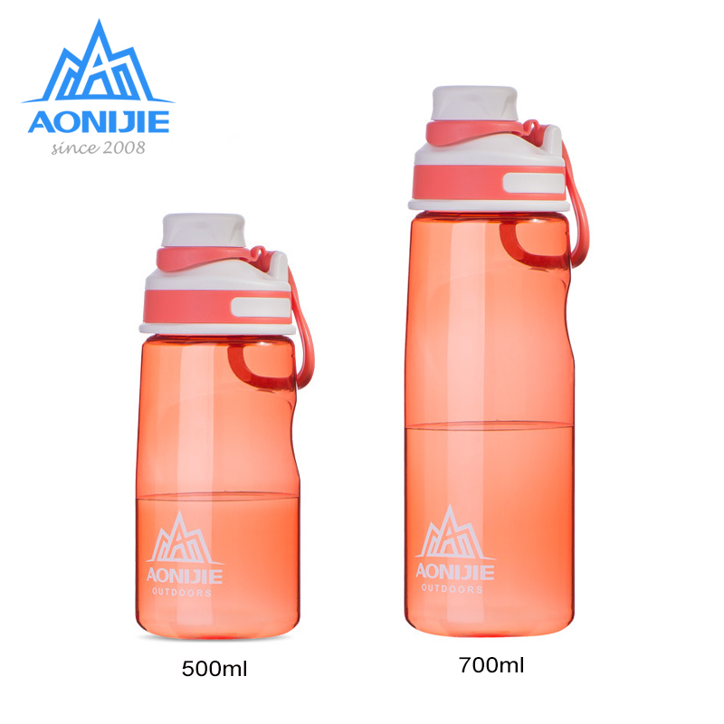 AONIJIE Leakproof Sports Kettle 500/700ml Portable Tritan Water Bottlle Cup Kettle BPA Free For Cycling Running Fitness Gym SD32