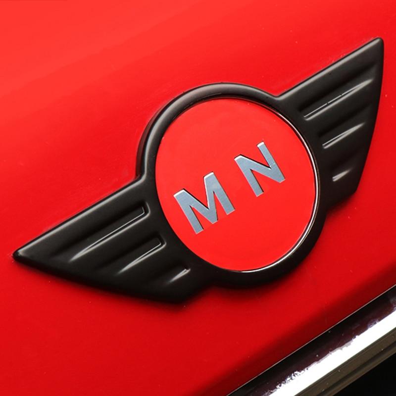 Voiture extérieure avant arrière coffre Logo Badge moulage autocollant décor couverture pour Mini Cooper JCW S R55 R56 R60 F54 F56 F60 accessoires