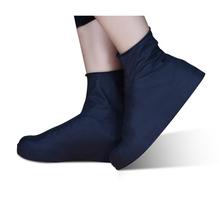 1 para wielokrotnego użytku lateksowe pokrowiec na buty S M L kalosze wodoodporne pokrowce na zewnątrz Camping Slip-on odporna guma kalosze ochraniacze na buty tanie tanio KAIGOTOQIGO Poliester Stałe Shoes Covers Waterproof Shoes Covers raincoat rain boots women women shoes rubber boots