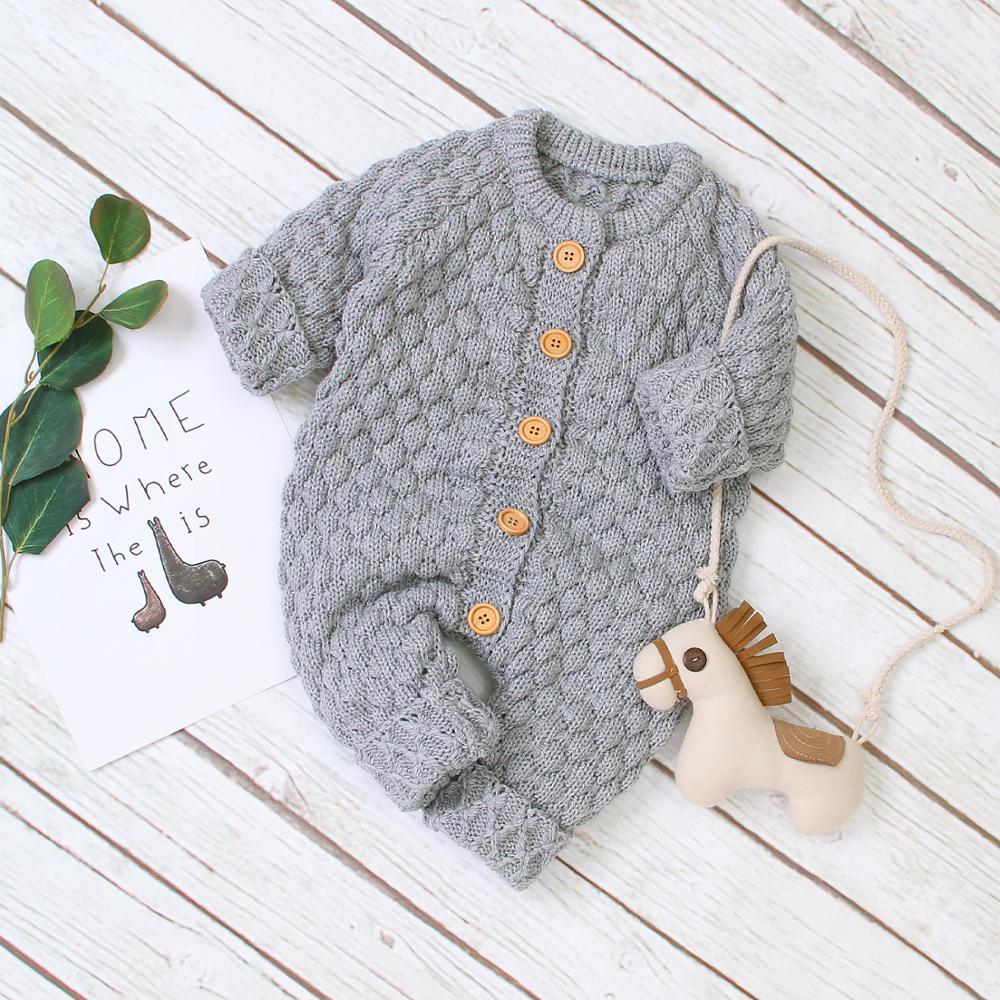 Infant Toddler Baby Girls Cardigan Sweater Long Sleeve Button Down Knitted Outwear Fall Winter Solid Color Knit Tops 0-18M