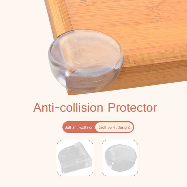 10pcs Baby Safety Table Corner Protector Transparent Anti Collision Angle Protection Cover Edge Corner Guard Child Security Home 4
