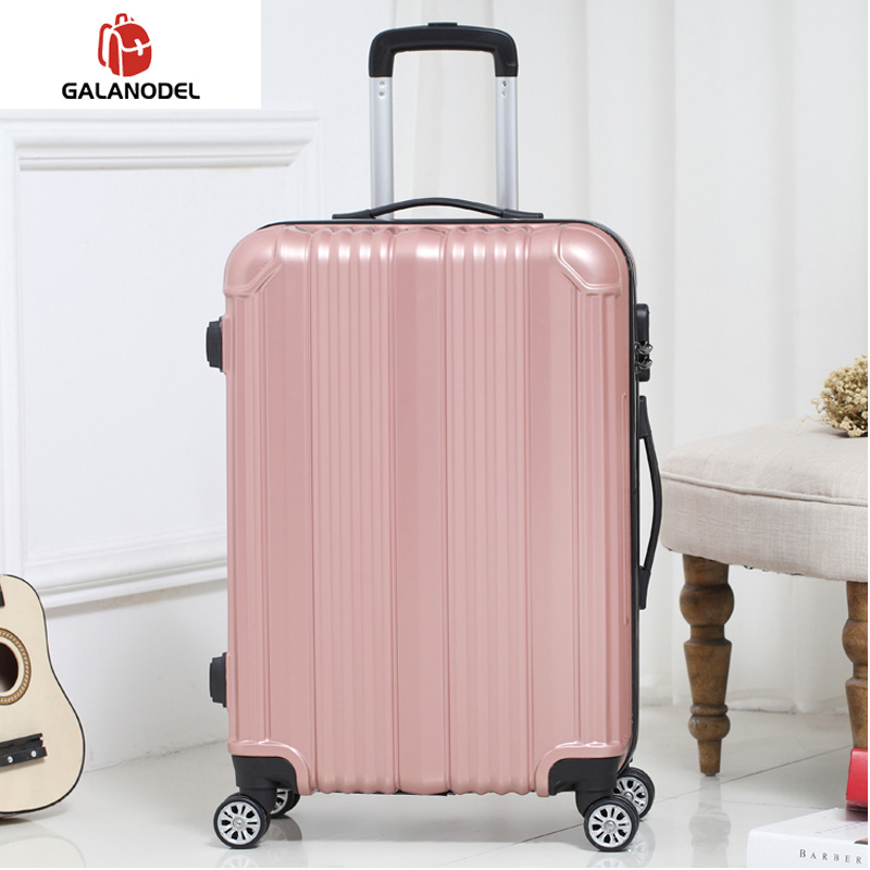 Travel Rolling Luggage Carry-ons Women Travel Spinner Rolling Luggage On Wheels 20/22/24 Inch Cabin Trolley Box Fashion Men's