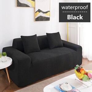 Image 3 - עמיד למים ספת כרית ספה כיסוי אנטי סליפ חיות מחמד חיתול כרית ארבע עונות ספה מגבת נורדי אוניברסלי מוצק צבע