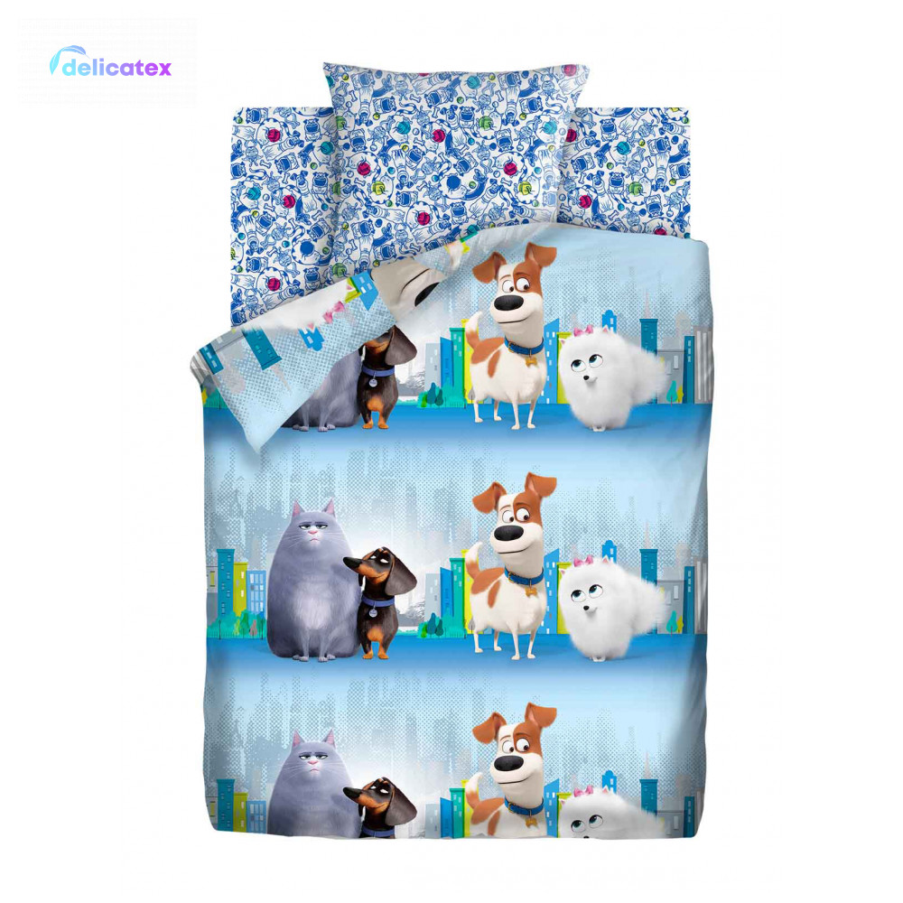 Bedding Sets Delicatex 16175-1+16174-2 V Gorode Home Textile Bed Sheets Linen Cushion Covers Duvet Cover Baby Bumpers Cotton