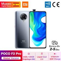 Глобальная версия Xiaomi POCO F2 Pro POCOPHONE F2 Pro 5G смартфон 6 ГБ 128 ГБ Snapdragon 865 64 мп Quad Cam 6,67 ''4700 мАч 30 Вт NFC