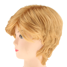 Synthetic Short Straight Donald Trump President Wig For Man Costume