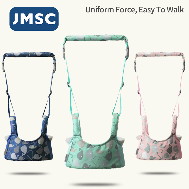Шлейка JMSC для детей, детский поводок для обучения ходьбе, рюкзак унисекс с крыльями, Поводок для детей