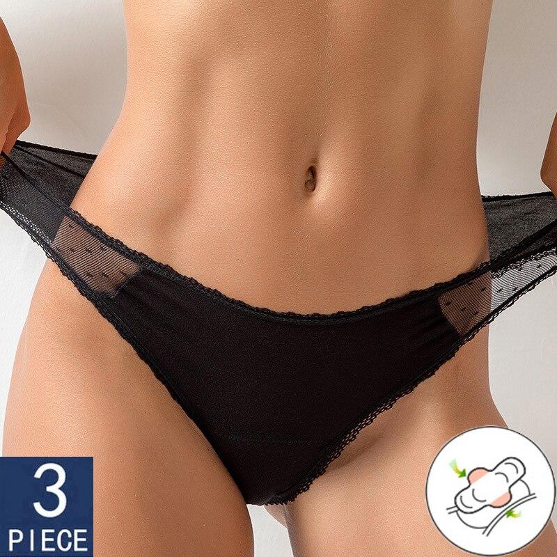трусы женские culotte menstruelle трусики женские стринги женские Women's panties трусы для менстМенструальные трусы для женщин, нижнее белье, четыре слоя, ...