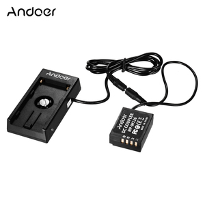 Image 1 - Andoer NP W126 الدمية البطارية مقرنة مع الربيع كابل لوح بطارية حامل ل فوجي كاميرات X A1/X A2/X A3/X E1/X E2/X M1