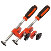Hot 2Pcs Woodworking Edge Clamp F Clamp Quick Clamp Function Expansion Auxiliary Tool Fixing Clamp