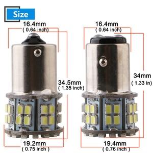 10 шт. 24 В белый P21W 1156 BA15S 1157 1206 50 SMD Светодиодные лампы 400LM автомобилей резервного копирования задний светильник указатель поворота парковочный светильник индикатор