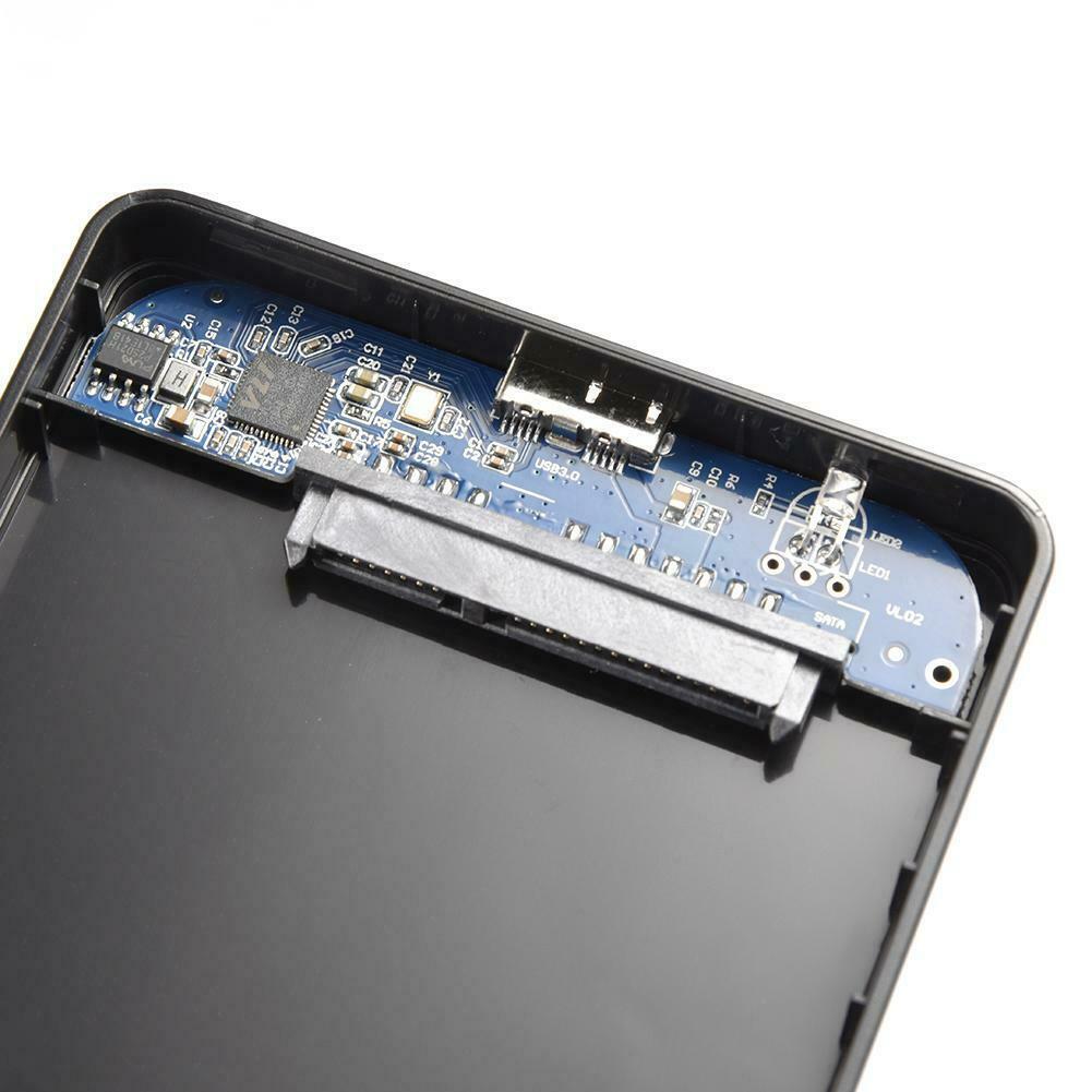 USB 3.0/2.0 5Gbps 2.5inch Portable SATA External Transmission Closure HDD Hard Enclosure Disk Case Box External Hard Disk for PC 6