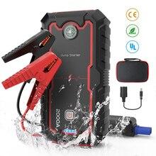 цена на 22000mAh Car Jump Starter 2000A12V Portable Emergency Starter Power Bank Car Booster Starting Device Waterproof