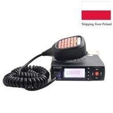 Mini Mobiele Radio BJ 218 25W Uitgangsvermogen Dual Band Ham Radio Voor Auto Taxi BJ218 Walkie Talkie