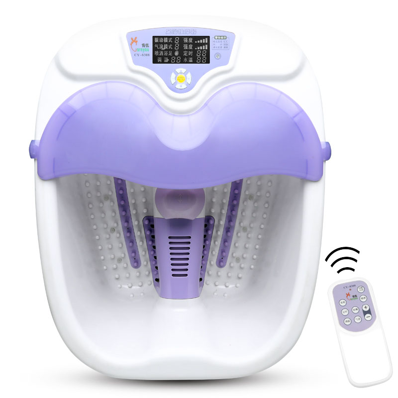 Foot Tub Automatic Massage Electric Heating Thermostat Package Fumigation Bubbler Pedicure Machine Home Thermostat Adjustment