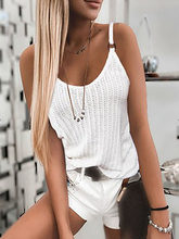 Sexy V-Neck Sleeveless Women Shirts Blouses Summer Casual Spaghetti Straps Backless Tops Elegant Print Knitted Blusas Streetwear