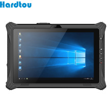 Hardtou 10 pulgadas de Windows 10 pro Rugged Tablet PC 8GB 128GB CPU I5 8250U huellas dactilares Tablet Industrial LK10