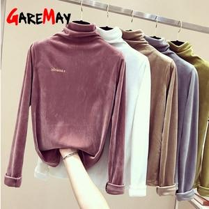 Осенняя винтажная бархатная рубашка, Женская водолазка Шеин, теплая плотная рубашка, Женская Длинная черная рубашка с длинным рукавом