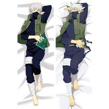 Anime Dakimakura Naruto Hatake Kakashi Male Hugging Body Pillow Case Otaku Pillow Cover Home Bedding