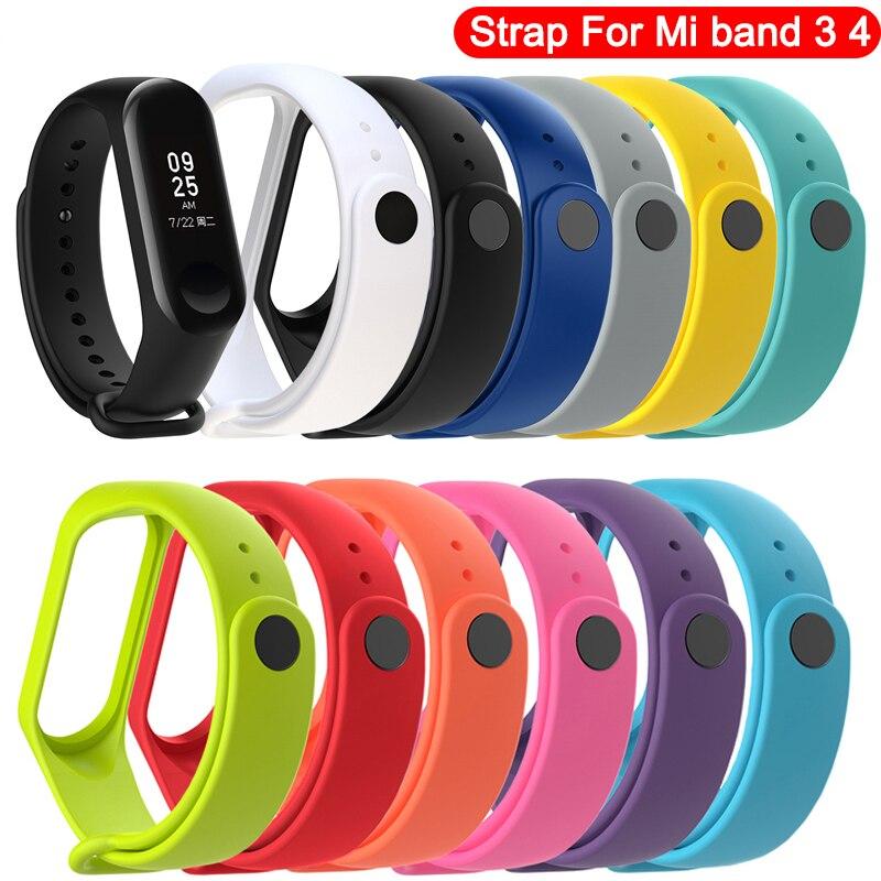 Wristband Replacement Correa 4-Strap 3-Bracelet Xiaomi for Pretty Pulseira