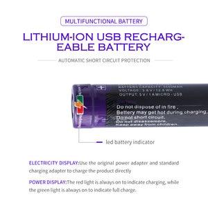 Image 4 - Laptop battery 8PCS Liter energy battery USB 5000ML Li ion Rechargebale battery USB 18650 3500mAh 3.7V Li ion battery + USB wire