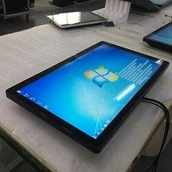 Tableta AIO 21,5 ''pulgadas led lcd tft hd 1080p TV pantalla táctil interactiva pantalla pizarra blanca con ordenador