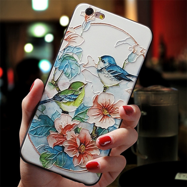 3D Emboss Flower Cover For Xiaomi Redmi Note 8 7 6 9 Pro 9S 5 7A 8A Mi A3 8 9 SE Note 10 Lite A1 5X A2 CC9 CC9e 9T Pro TPU Case 1