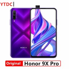 Nouveau Smartphone Honor 9X pro 6G 64G original Honor 9X pro Kirin 810 Octa Core 48MP caméra frontale 16MP 4000mAh