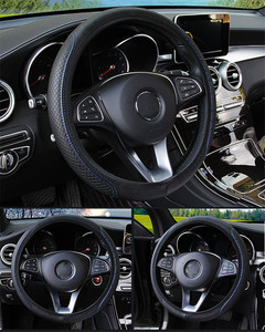 Image 5 - רכב הגה כיסוי 36 39cm עבור אופל ווקסהול אסטרה H G J Insignia Mokka Zafira Corsa Vectra B ד ג Antara מריבה Vivaro