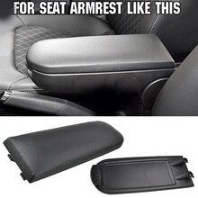 Защитная крышка подлокотника для салона автомобиля, простая установка, без сверления, для Seat Ibiza 6J 09-16, автозапчасти