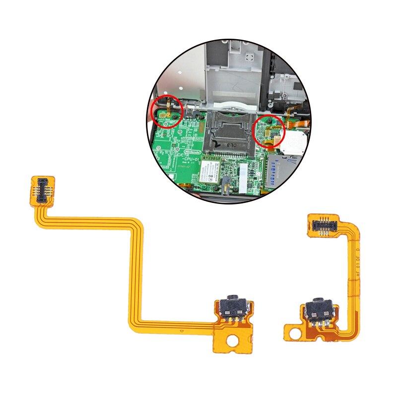 2 шт. для ремонта NS левый правый переключатель L/R Наплечная кнопка с гибким кабелем
