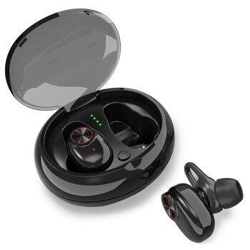2 colores en la oreja auriculares con micrófono para iPhone y Android Teléfono auriculares Bluetooth TWS inalámbricos auriculares estéreo cancelación del ruido