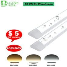 5 sztuk 10 sztuk AC85-265V świetlówka Led świetlówka Led Batten światło liniowe Led lampa ciepły zimny biały 90CM 120CM 110 lm/w