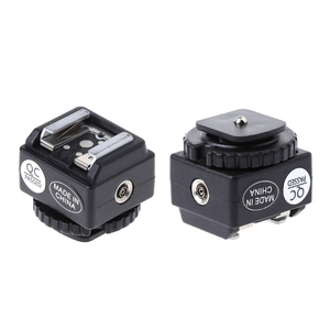 Image 2 - C N2 Hot Shoe Adapter Chuyển Đổi Đồng Bộ PC Cổng Bộ Cho Nikon Flash Cho Máy Ảnh Canon Mới