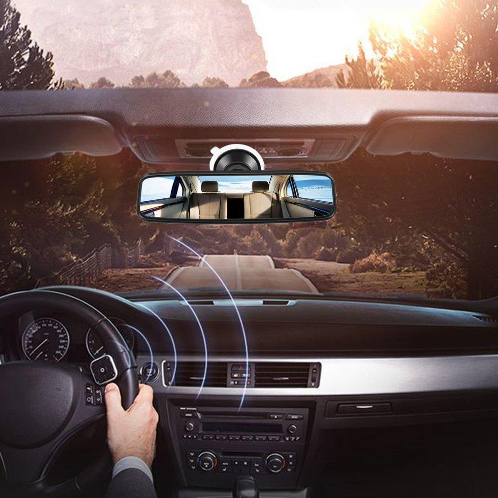 Автомобильное зеркало заднего вида с ПВХ присоской, широкоугольное Автомобильное зеркало заднего вида с выпуклым изгибом, Прямая поставка