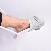 2020 pvc sock sock aid estocagem doner disability assist ferramenta de ajuda meia/meia de ajuda, ajuda ao colocar meias, invalidez ajuda