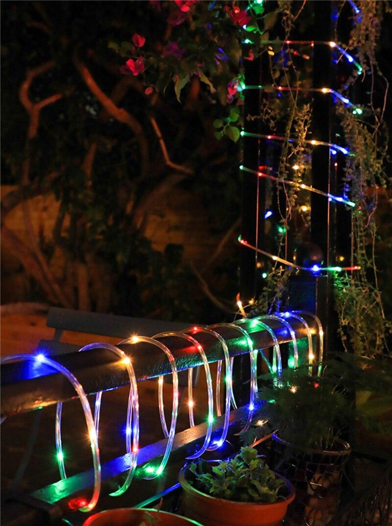 Tira led para decoração de jardim, fita