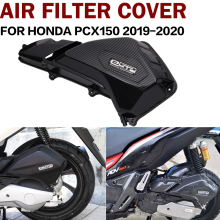 for Honda PCX150 ADV150 2019 2020 carbon fiber pattern motorcycle air filter cover filter element replacement housing cover